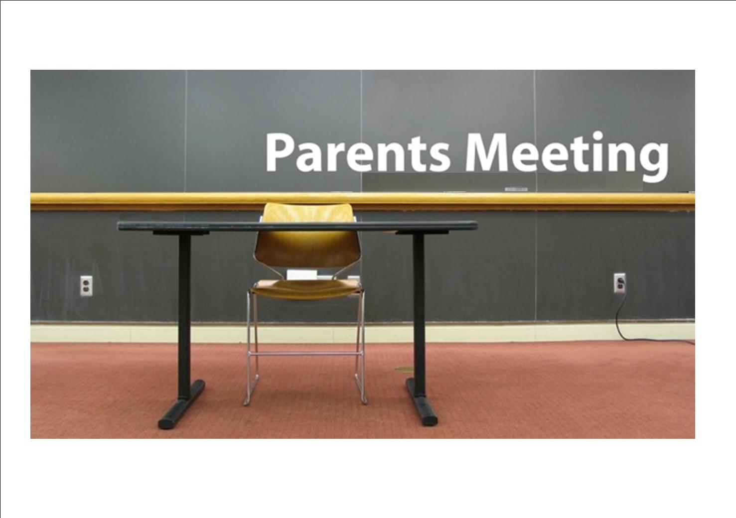 MARA Parent Meetings…